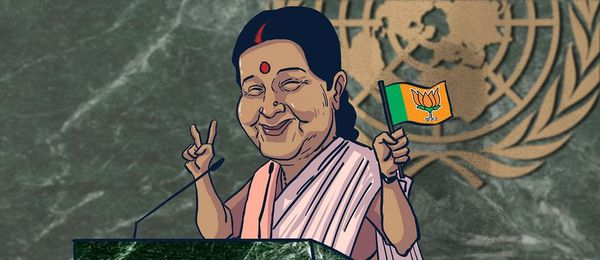 Why Sushma Swaraj's UN speech was a missed chance