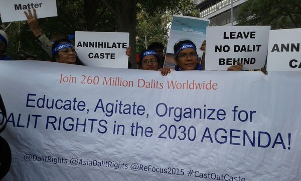 How the UN Cast out Caste, Leaving Dalits Behind
