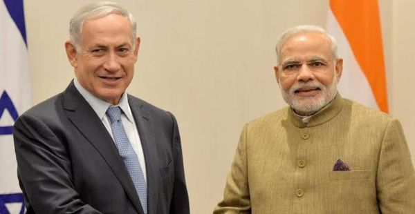 India, Israel and Palestine: A triangle that does not sum up